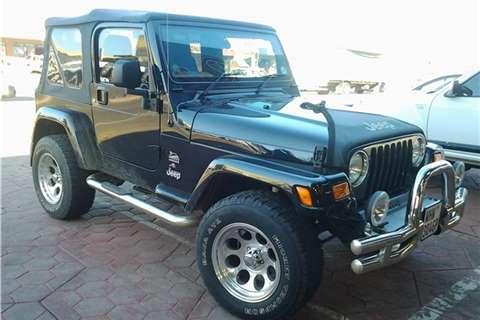 2005 Crysler Jeep   Wrangler 4.0 Outo